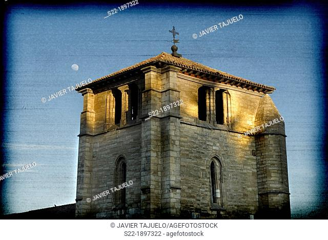 Church of San Esteban, Burgos, Castilla-Leon, Spain