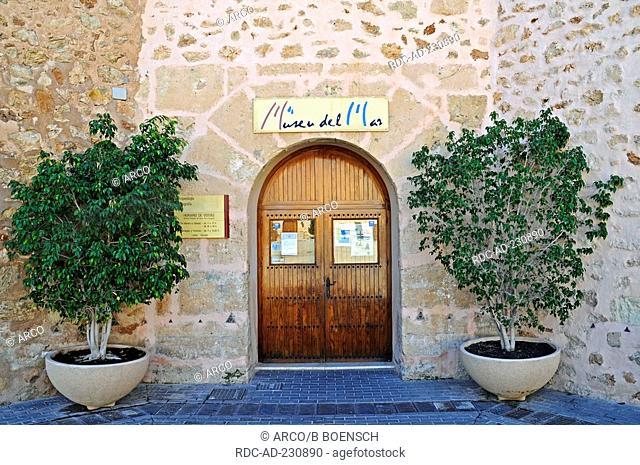 Archaeological museum, castillo Fortaleza, Santa Pola, Costa Blanca, Spanien
