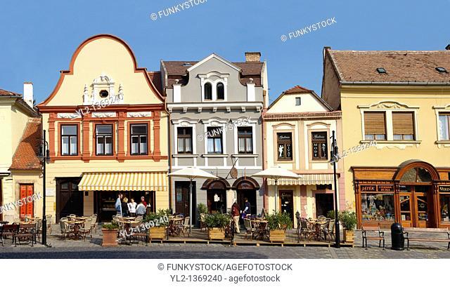 Town Square Koszeg Hungary