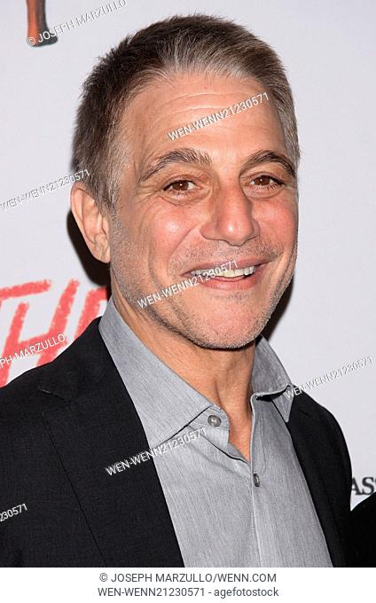 Opening night of Heathers The Musical at the New World Stages - Arrivals. Featuring: Tony Danza Where: New York, New York