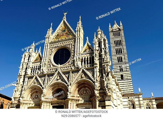 Europe, Italy, Tuscany, Siena, Dom Santa Maria