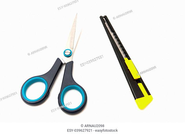 cuter scissors on a white background