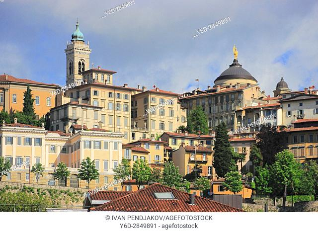 The Old Town of Bergamo, Italy