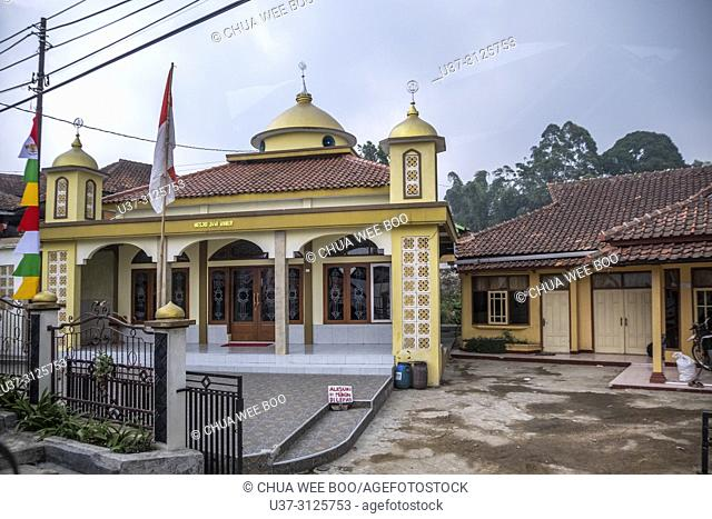 Mosque in Ciwidey, Bandung countryside , Java, Indonesia