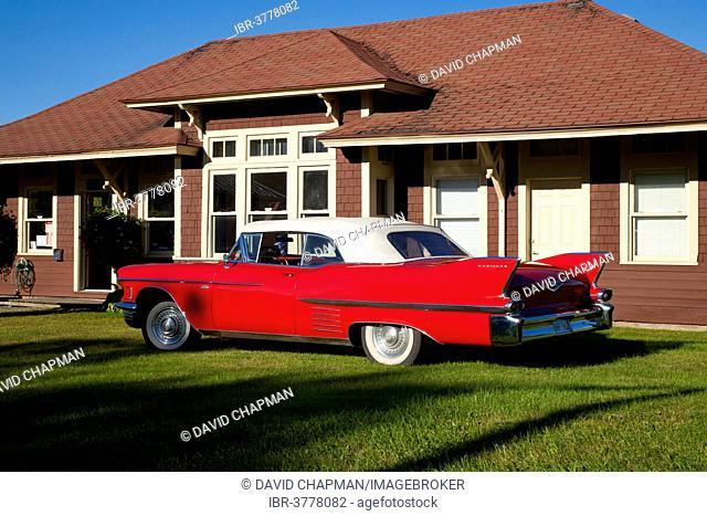 1958 Cadillac Convertible Series 62 E, Waterloo, Quebec, Canada