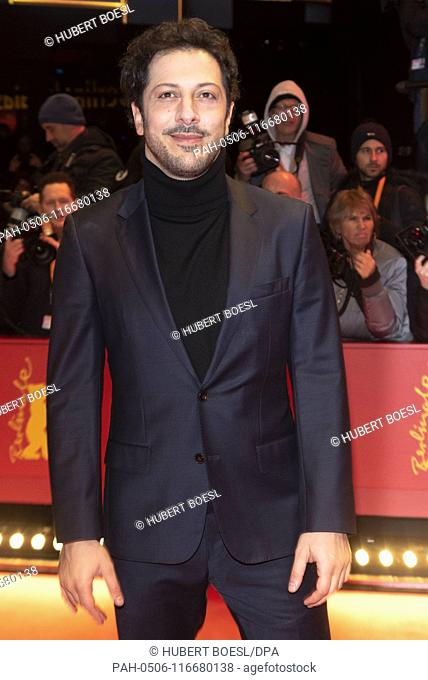 Fahri Yardim attends the premiere of 'The Kindness of Strangers' during the 69th Berlinale International Film Festival at Berlinalepalast in Berlin, Germany