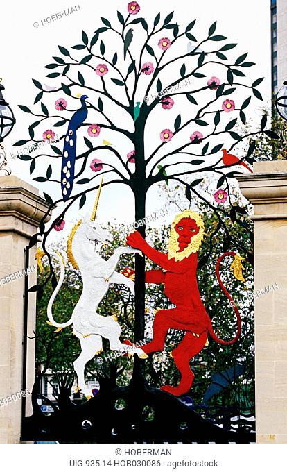 Queen Elizabeth Gate, Hyde Park, London, United Kingdom