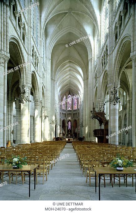 Soissons, Kathedrale/ Blick nach Osten