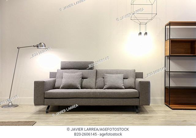 Furniture in decoration store