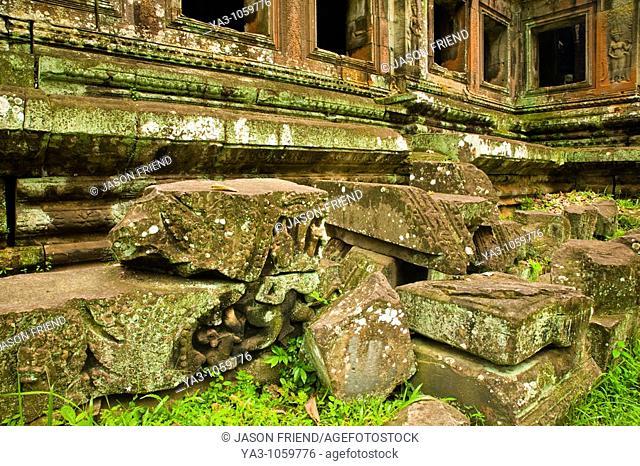 Cambodia, Angkor, Angkor Wat  The dramatic remains of Angkor Wat