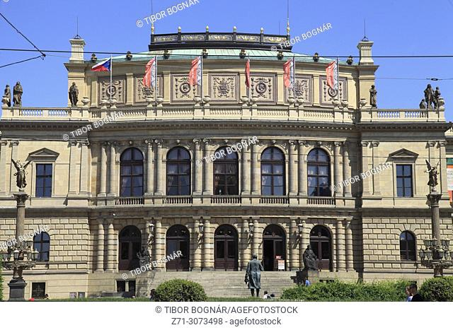 Czech Republic, Prague, Rudolfinum, concert hall,