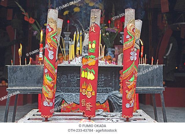 Chinese temple in Nam Bin Wei, Yuen Long, Hong Kong