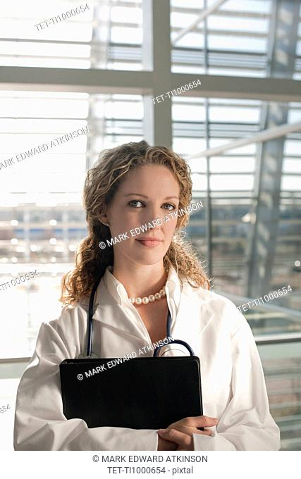 USA, Virginia, Virginia Beach, portrait of female doctor