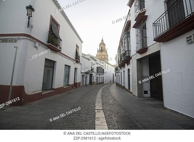 Old town in Carmona, Seville province Spain