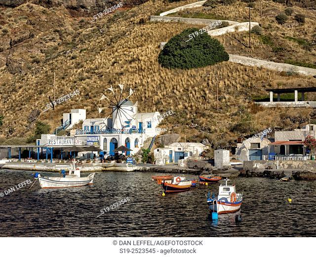 Santorini Island. Fira village. Greece