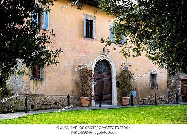 Montallino. Tuscany, Italy