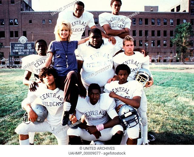 American Wildcats, (WILDCATS) USA 1986, Regie: Michael Ritchie, GOLDIE HAWN, Stichwort: Football-Team