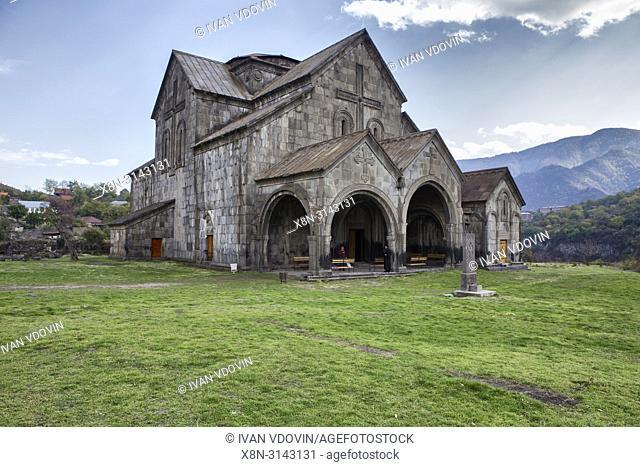Akhtala monastery church (13th century), Akhtala, Lori province, Armenia