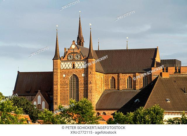 St. Georg Church, Hanseatic City of Wismar, Mecklenburg-Vorpommern, Germany
