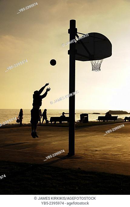Basketball at the Beach