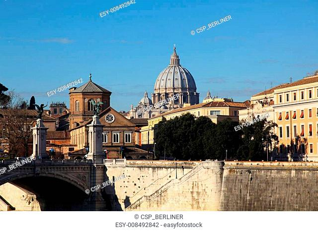 Bank of the Tiber Rome