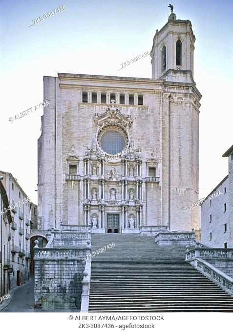 Girona City, Cathedral Ste. Maria