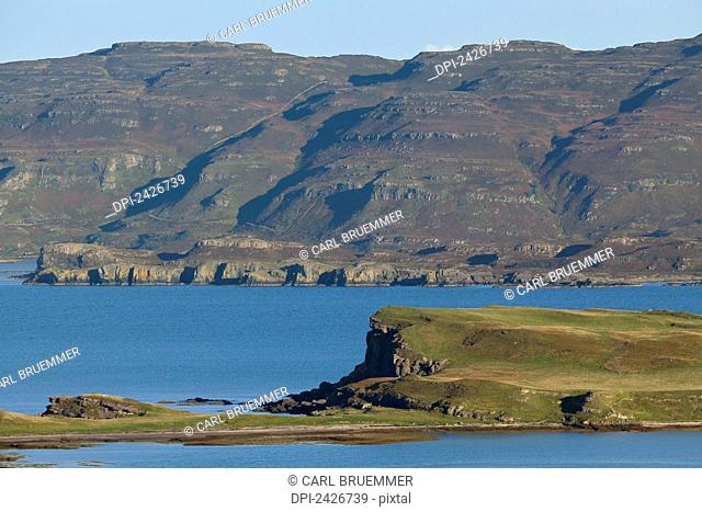 View over Loch na Keal northwards; Isle of Mull, Scotland