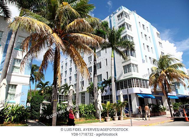 Collins Ave Miami Beach, Florida, USA