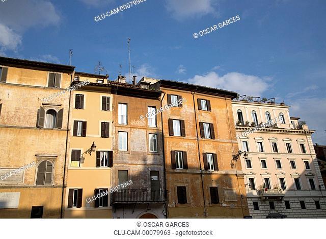 Arquitectura Tradicional, Roma, Lacio, Italia, Europa Occidental