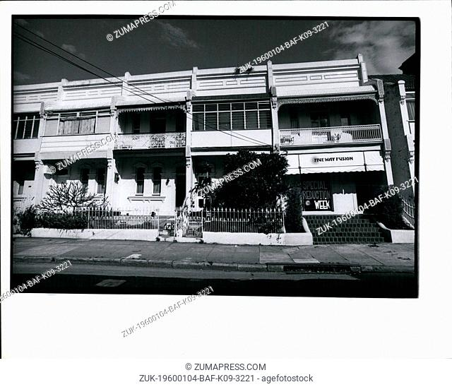 1976 - Australia Sydney - Paddington Renovations. (Credit Image: © Keystone Pictures USA/ZUMAPRESS.com)