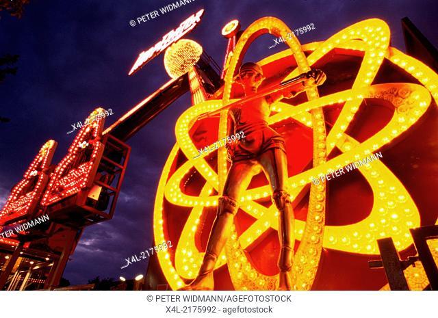 amusement park Prater Vienna, Austria, Vienna, 2. district, Prater