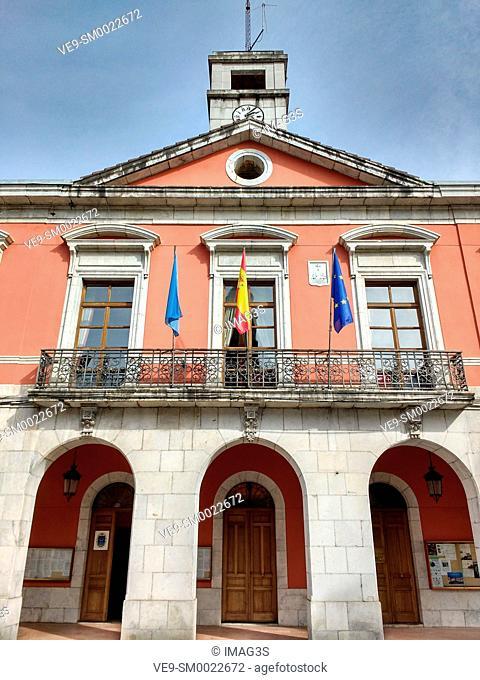 Infiesto Town Hall, Asturias, Spain