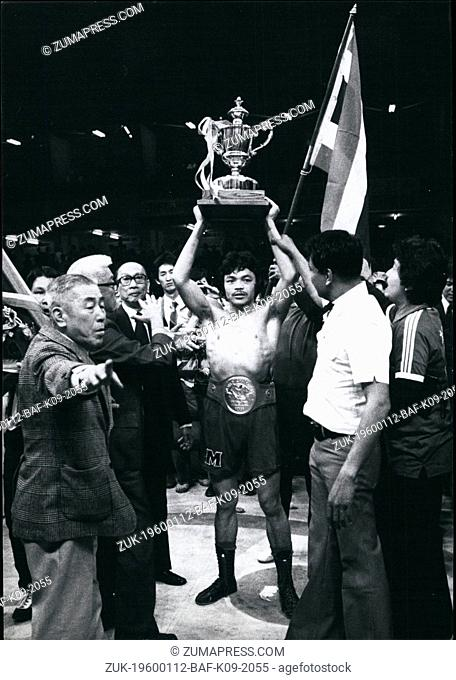 1972 - Sensaku Muan Surin Wins Title Fight In Tokyo: The World Welter Weight Championship fight took place in Tokyo on 2nd April between the champion Sensaku...