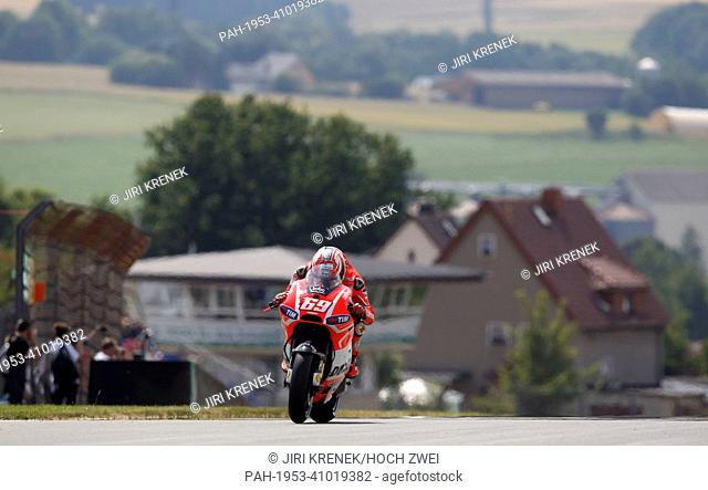 Motorsports: MotoGP World Championship, GP of Germany, Nicky Hayden 69 (USA), Ducati Team   usage worldwide