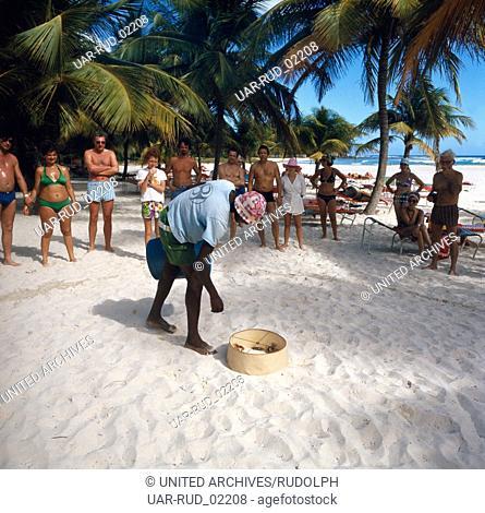 Reise in die Karibik, 1970er Jahre. Journey to the Caribbean, 1970s