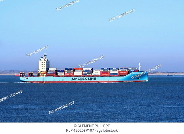 Vuoksi Maersk, ice-class feeder container ship / cargo ship from Maersk Line, Danish international container shipping company