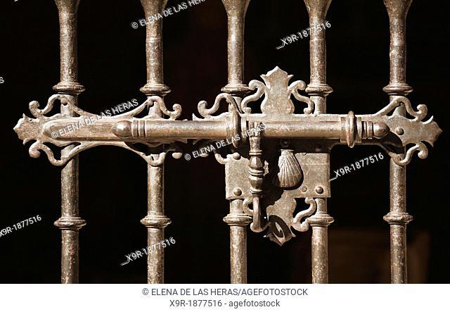 Decorative bolt  Laguardia  Alava  Basque country  Spain