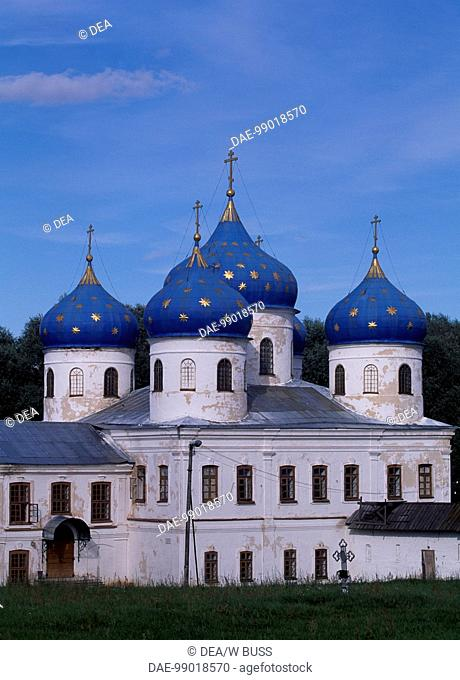 St George's Cathedral in Yuriev Monastery, (UNESCO World Heritage List, 1992), Novgorod, Russia, 1119