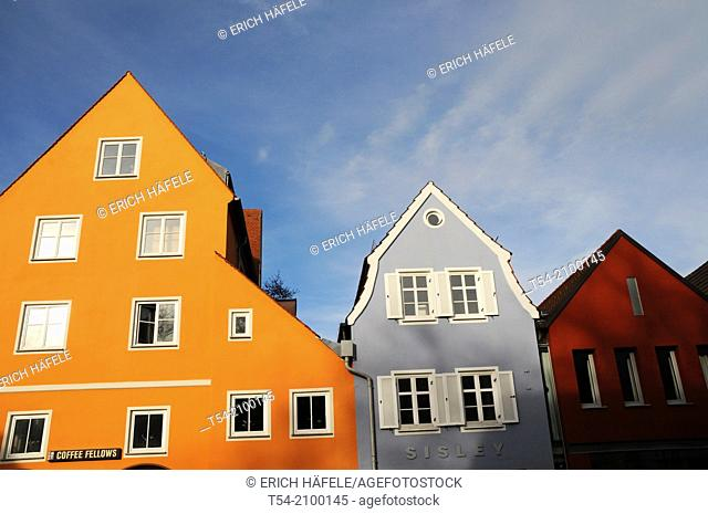 Renovated old town houses in Memmingen / Bavaria