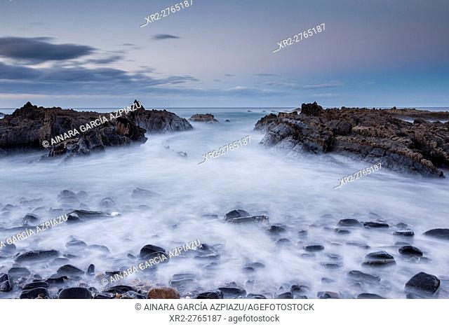 Saturraran beach, Mutriku, Basque Country