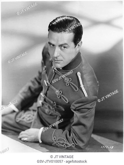 Ray Milland, Publicity Portrait for the Film, Hotel Imperial, Paramount Pictures, 1939