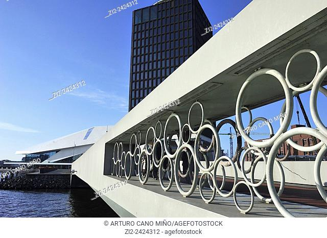 EYE Film Institute Netherlands is a Dutch archive and museum in Amsterdam, Netherlands