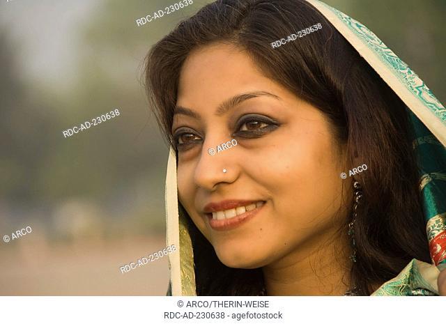 Indian woman, New Delhi, India, New Dehli