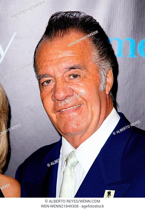 The Skin Cancer Foundation Gala at Mandarin Oriental in New York City Featuring: Tony Sirico Where: New York City, New York