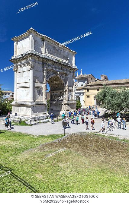 Arch of Constantine, Rome, Lazio, Italy, Europe