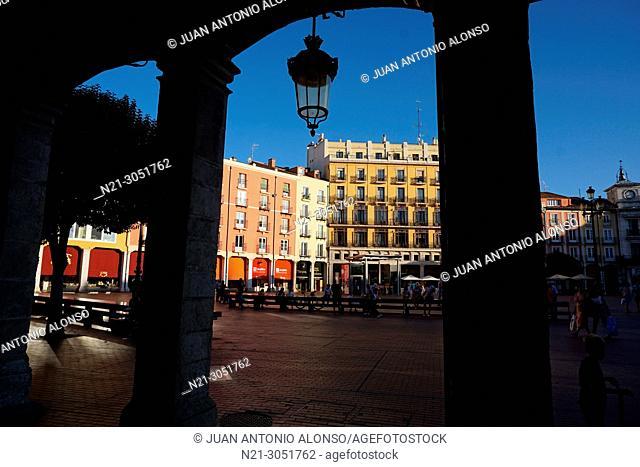 Plaza Mayor. Burgos, Castilla y Leon, Spain