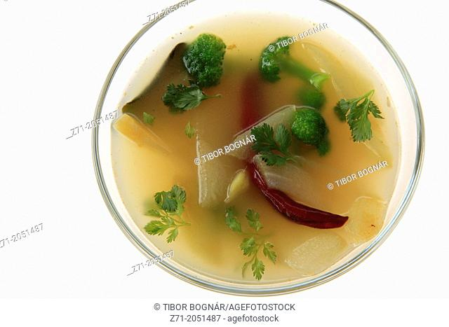 Christophine soup