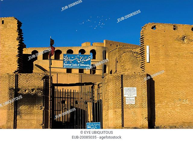 The Citadel (Qala-i-Ikhtiyar-ud-din) Originally built by Alexander the Great but built in it's present form by Malik Fakhruddin in 1305 A.D