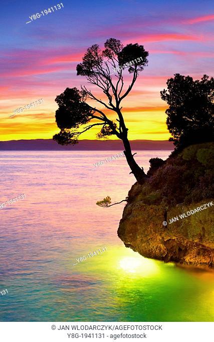 """Croatia - Makarska Riviera Coast, """"""""Kamen Brela"""""""" (Brela Stone), Dalmatia, Croatia"""