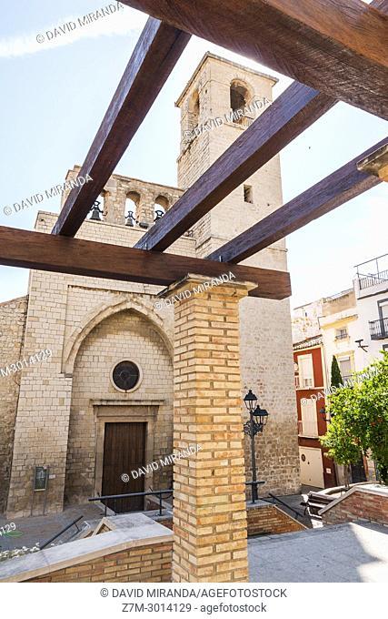 Iglesia de San Juan y torre del Concejo. City of Jaen. Andalusia. Spain